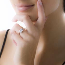 Bague Sally Or Blanc Topaze - Bagues avec pierre Femme | Histoire d'Or