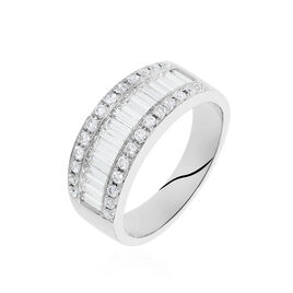 Bague Eugenie Or Blanc Diamant - Bagues avec pierre Femme | Histoire d'Or