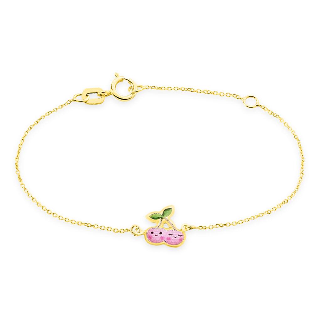 Bracelet Caly Or Jaune - Bracelets Naissance Enfant   Histoire d'Or