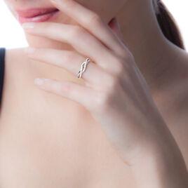 Bague Ursulla Or Blanc Diamant - Bagues avec pierre Femme | Histoire d'Or