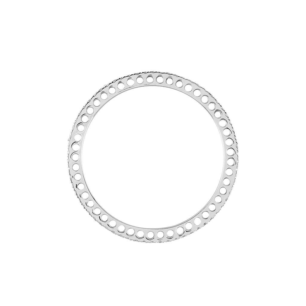 Alliance Lu Or Blanc Diamant - Alliances Femme | Histoire d'Or