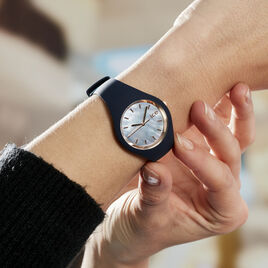 Montre Ice Watch Pearl Bleu - Montres classiques Femme   Histoire d'Or