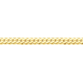 Collier Synda Maille Anglaise Or Jaune - Chaines Femme | Histoire d'Or