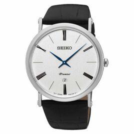 Montre Seiko Premier Blanc - Montres classiques Homme | Histoire d'Or