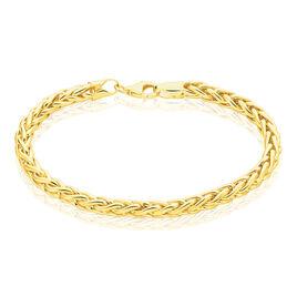 Bracelet Jayna Maille Palmier Or Jaune - Bracelets chaîne Femme | Histoire d'Or