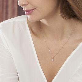 Collier Goutte Or Jaune Oxyde De Zirconium - Bijoux Femme | Histoire d'Or