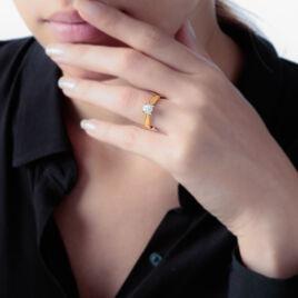 Solitaire Or Jaune Grace Et Diamant - Bagues solitaires Femme | Histoire d'Or