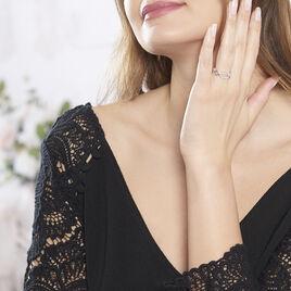 Bague Ela Argent Blanc Oxyde De Zirconium - Bagues avec pierre Femme | Histoire d'Or