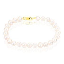 Bracelet Merrane Or Jaune Perle De Culture - Bijoux Femme | Histoire d'Or