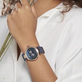 Montre Gc Cablebijou Nacre Bleue - Montres Femme   Histoire d'Or