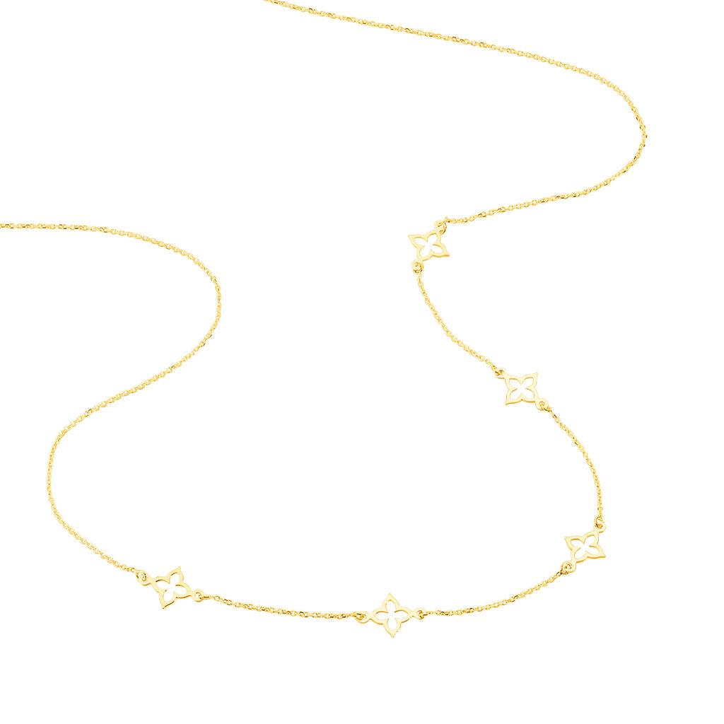 Collier Kalia Or Jaune - Colliers Trèfle Femme | Histoire d'Or
