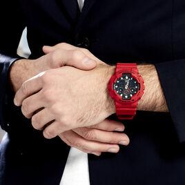 Montre Casio G-shock Black & Red Noir - Montres sport Homme   Histoire d'Or