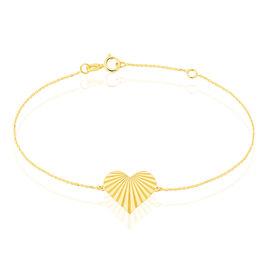 Bracelet Lada Coeurs Or Jaune - Bracelets Coeur Femme | Histoire d'Or
