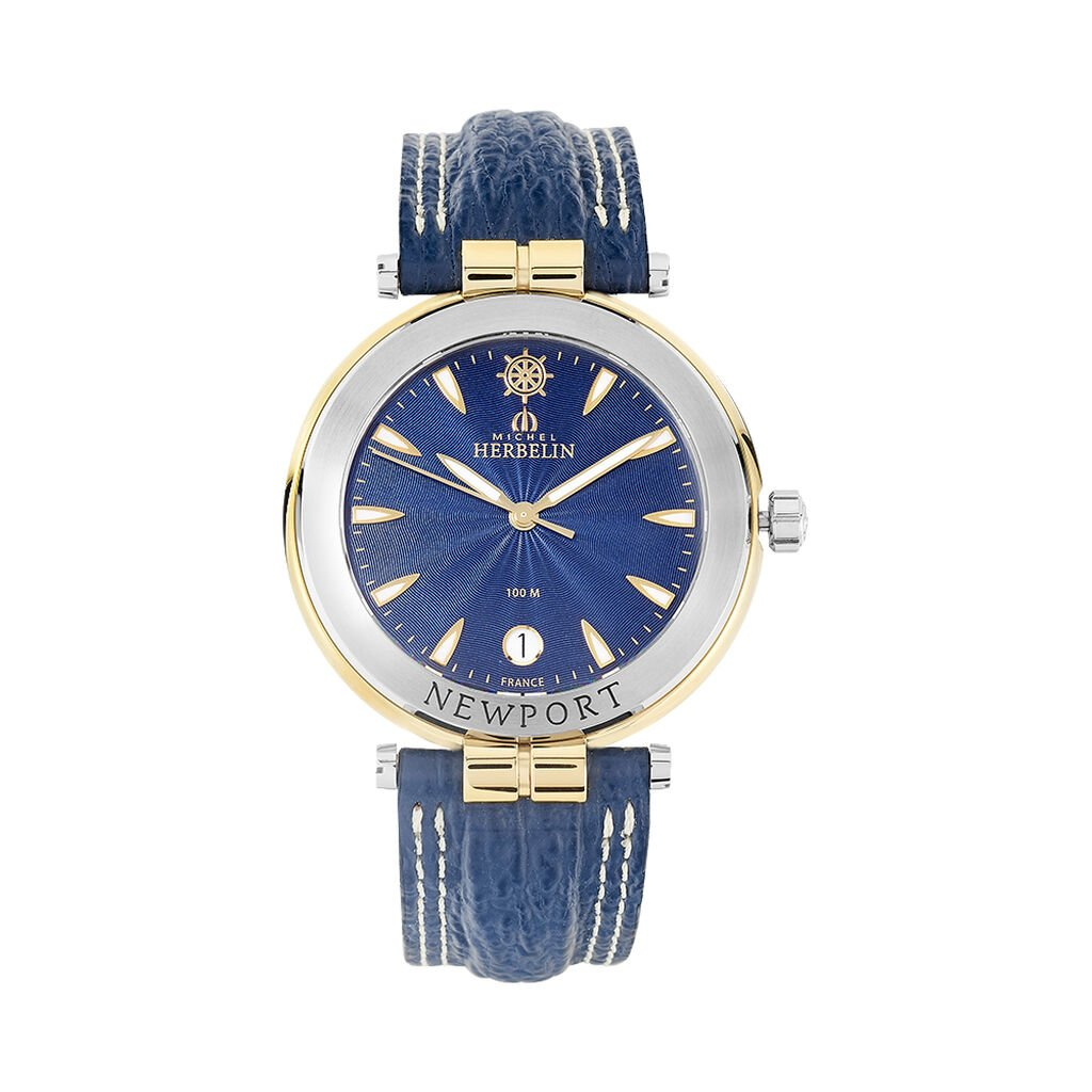 Montre Michel Herbelin Newport Bleu