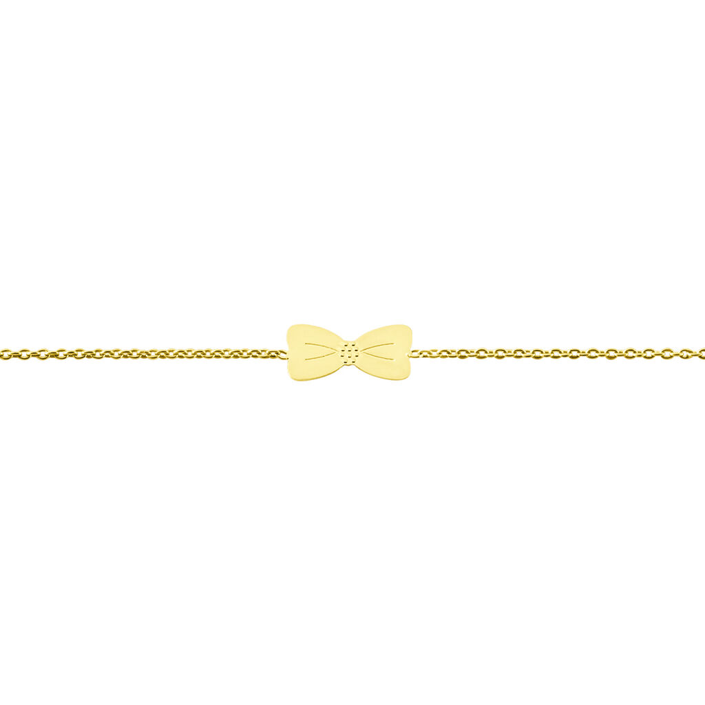 Bracelet Evonne Noeud Or Jaune - Bracelets Naissance Enfant | Histoire d'Or