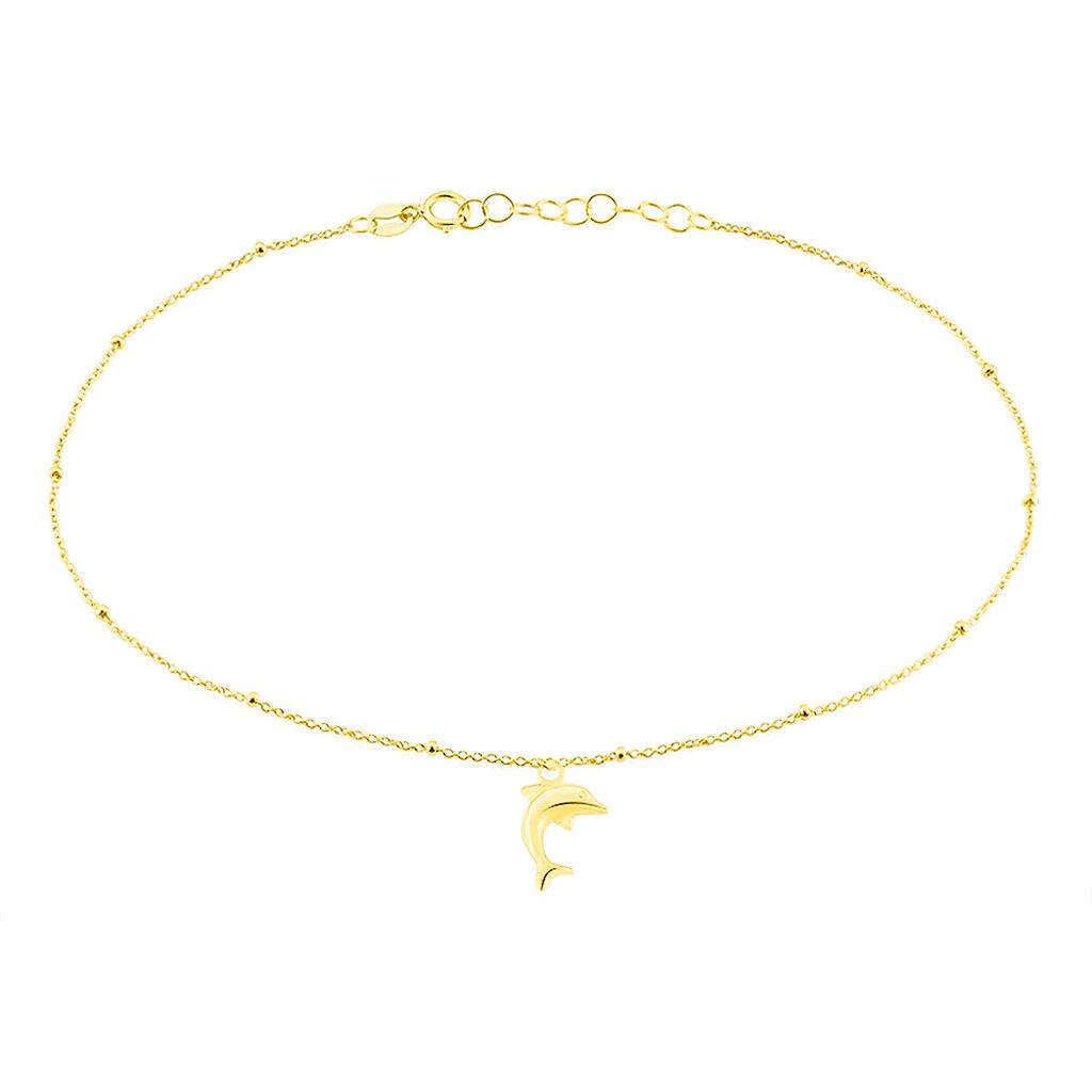 Chaîne De Cheville Zaia Or Jaune - Chaînes de cheville Femme | Histoire d'Or