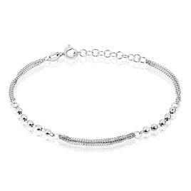 Bracelet Melodie Argent Blanc - Bracelets fantaisie Femme | Histoire d'Or