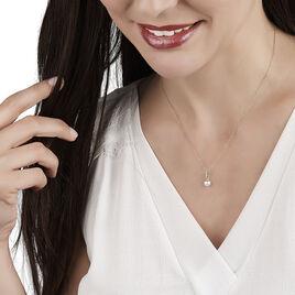 Collier Delight Or Jaune Perle De Culture Et Diamant - Bijoux Femme | Histoire d'Or