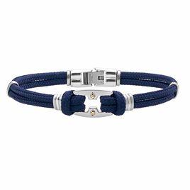 Bracelet Leane Acier Bicolore - Bracelets cordon Homme | Histoire d'Or
