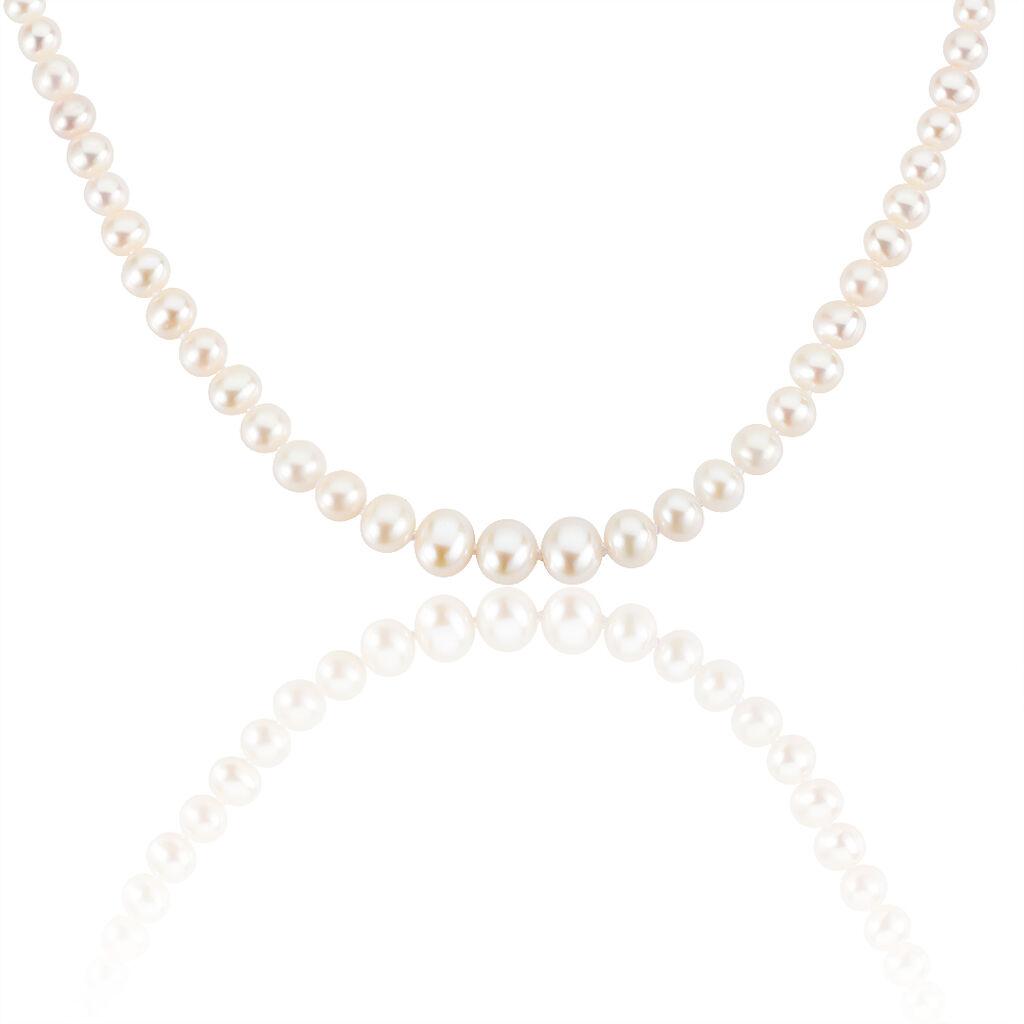 Collier Danilo Baroque Or Jaune Perle De Culture - Bijoux Femme   Histoire d'Or