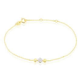Bracelet Caterine Or Bicolore Diamant - Bijoux Femme | Histoire d'Or