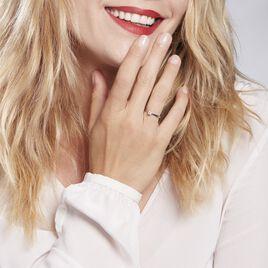 Bague Solitaire Victoria Platine Blanc Diamant - Bagues solitaires Femme | Histoire d'Or