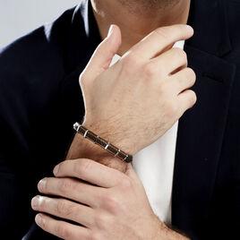 Bracelet Kessel Acier Blanc - Bracelets fantaisie Homme | Histoire d'Or