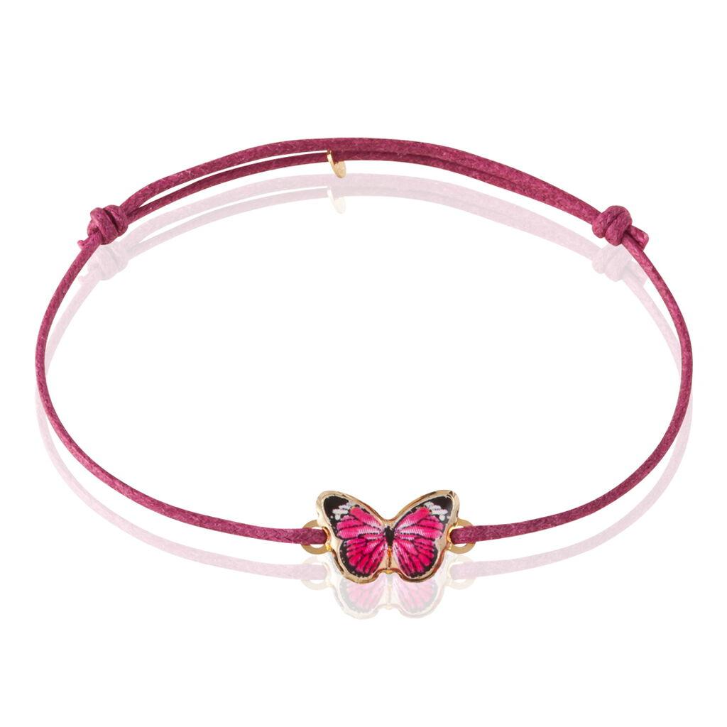 Bracelet Sulivia Papillon Or Jaune - Bracelets Naissance Enfant   Histoire d'Or
