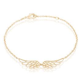 Bracelet Kateline Plaque Or Jaune - Bracelets fantaisie Femme | Histoire d'Or