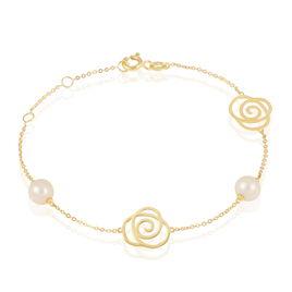 Bracelet Evaleen Or Jaune Perle De Culture - Bijoux Femme | Histoire d'Or