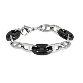 Bracelet Sandjana Acier Blanc Céramique - Bracelets fantaisie Femme | Histoire d'Or