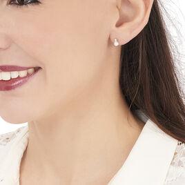 Boucles D'oreilles Pendantes Taima Or Jaune Perle De Culture - Boucles d'oreilles pendantes Femme | Histoire d'Or