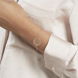 Bracelet Georas Plaqué Or - Bracelets fantaisie Femme | Histoire d'Or
