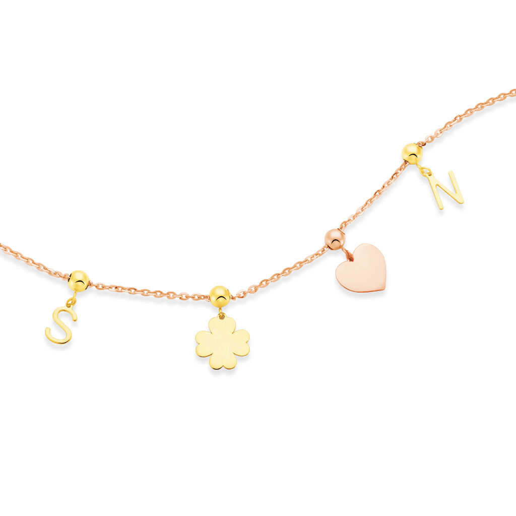 Charms Kaythleen Or Rose - Pendentifs Coeur Femme | Histoire d'Or