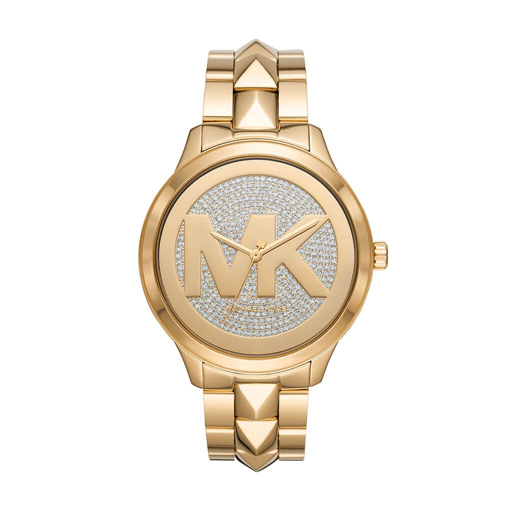 Montre Michael Kors Runway Mercer Champagne - Montres Femme | Histoire d'Or