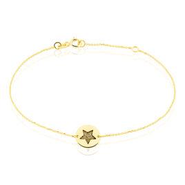 Bracelet Roxanne Or Jaune - Bijoux Etoile Femme   Histoire d'Or