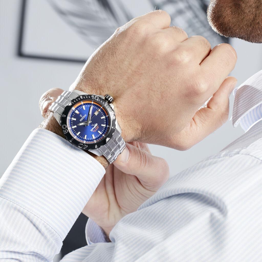 Montre Festina The Originals Bleu - Montres Homme | Histoire d'Or