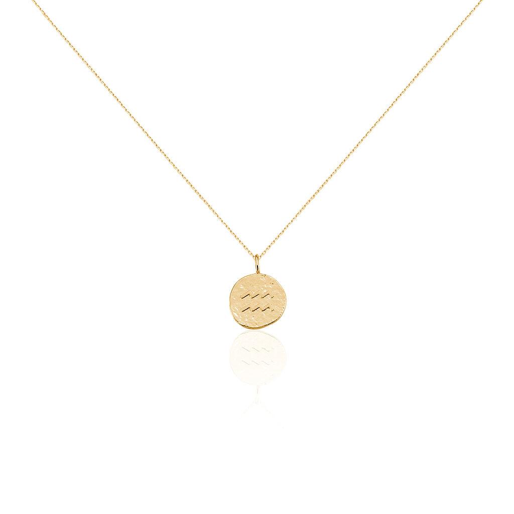 Collier Keva Plaque Or Jaune - Sautoirs Femme | Histoire d'Or
