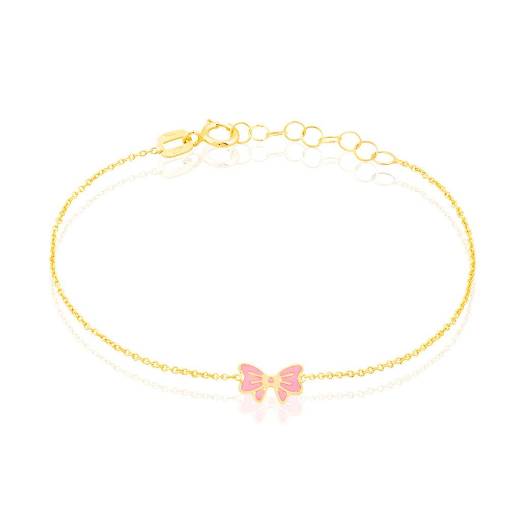 Bracelet Amelie Noeud Or Jaune - Bracelets Naissance Enfant | Histoire d'Or