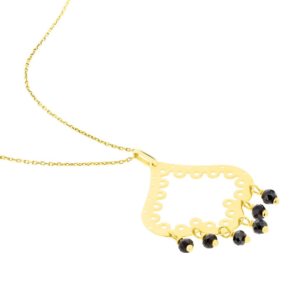 Collier Saymaae Or Jaune Oxyde De Zirconium - Bijoux Femme | Histoire d'Or