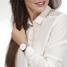 Montre Rosefield The Bowery Blanc - Montres tendances Femme   Histoire d'Or