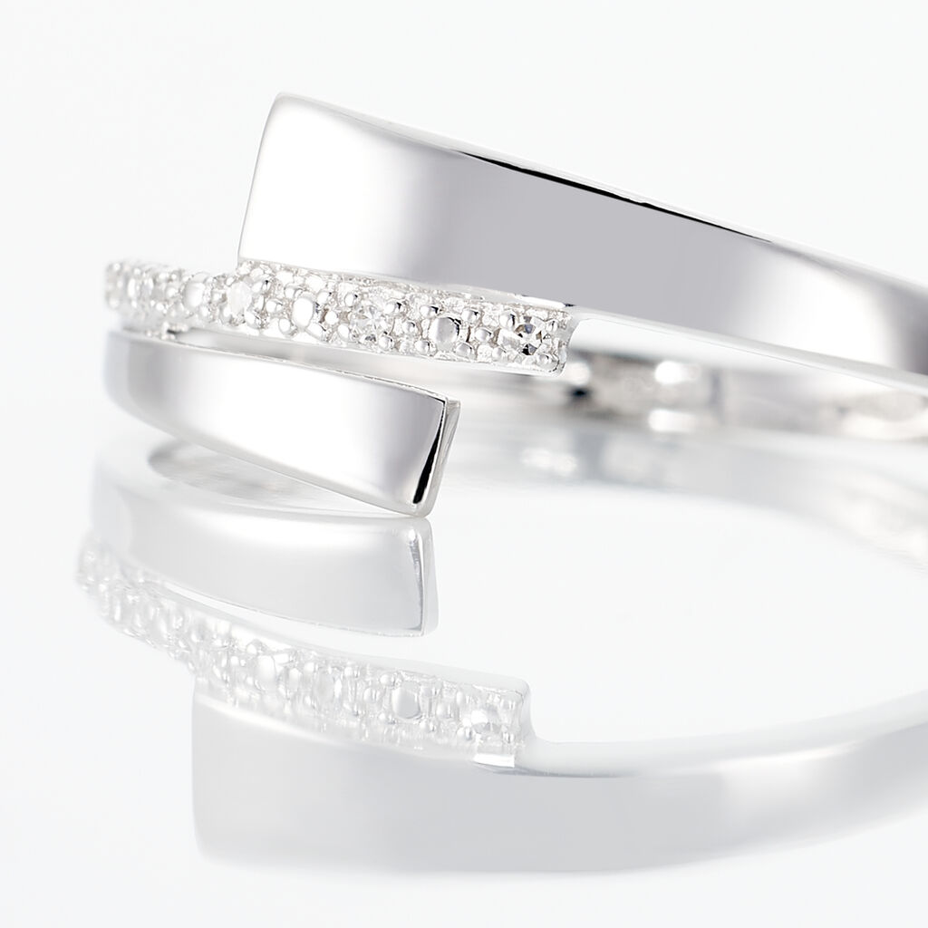 Bague Ainhoa Or Blanc Diamant