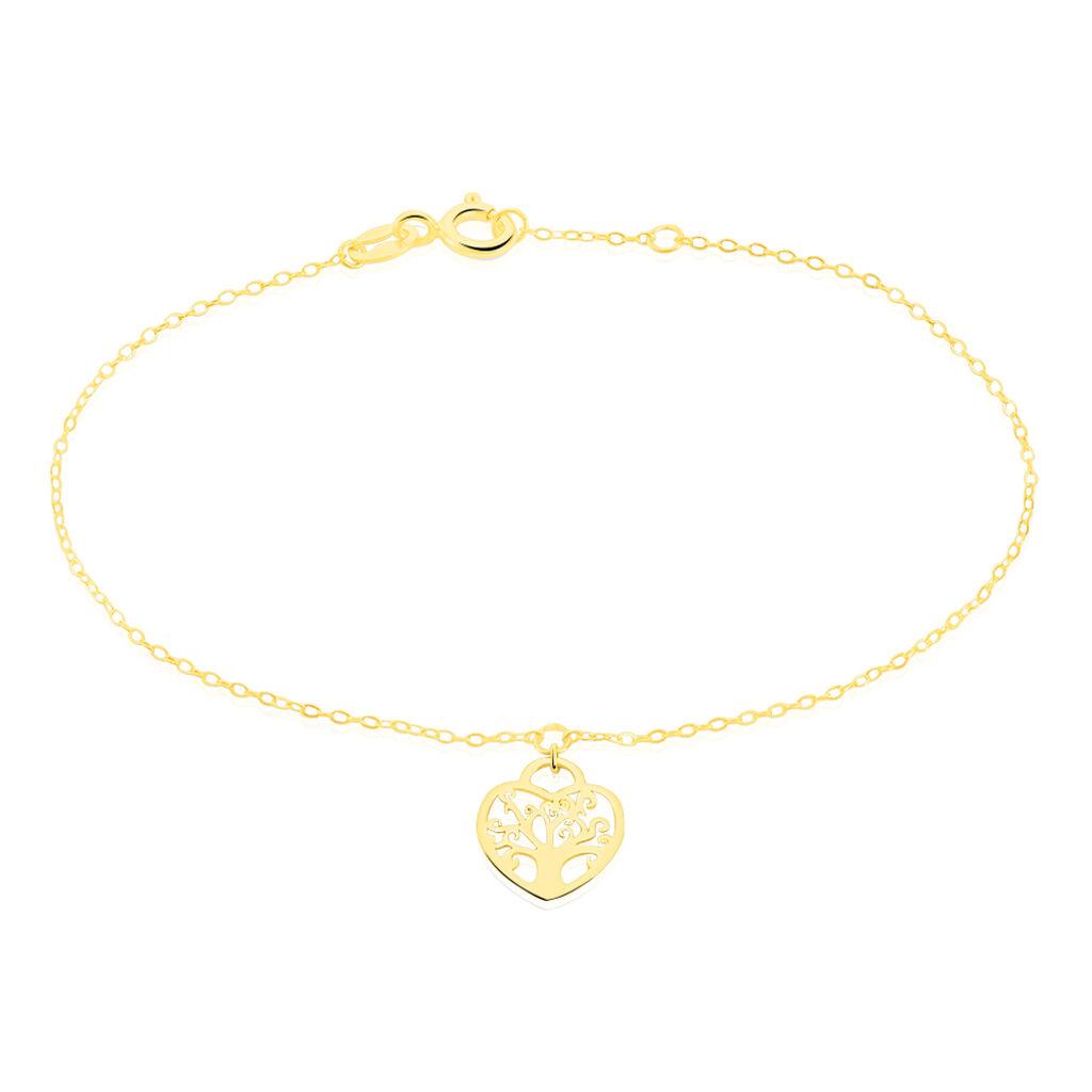 Bracelet Ivane Or Jaune - Bracelets Arbre de vie Femme | Histoire d'Or
