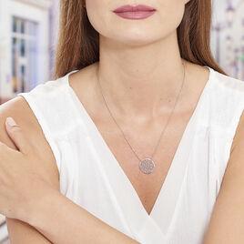 Collier Setti Argent Blanc - Colliers fantaisie Femme | Histoire d'Or