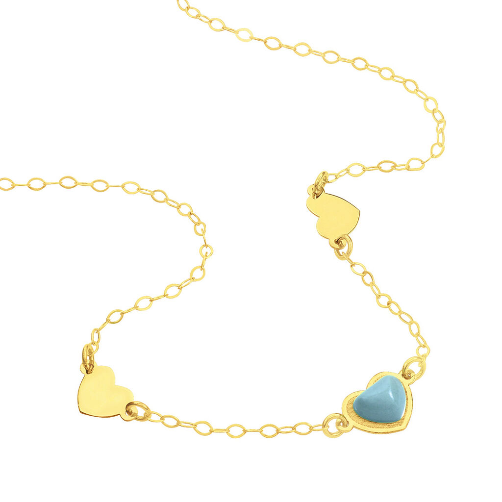 Collier Or Jaune - Colliers Coeur Femme | Histoire d'Or