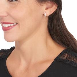 Boucles D'oreilles Puces Cateline Or Jaune Diamant - Clous d'oreilles Femme | Histoire d'Or