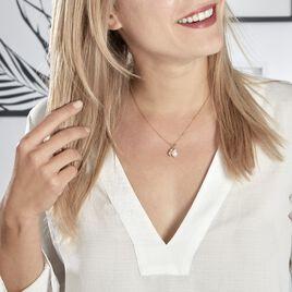 Collier Soalie Plaque Or Jaune Perle D'imitation - Bijoux Femme | Histoire d'Or