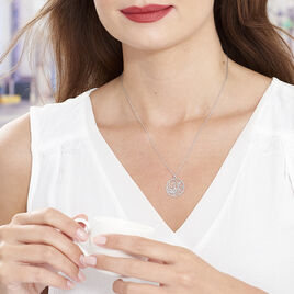 Collier Hita Argent Blanc - Colliers fantaisie Femme | Histoire d'Or