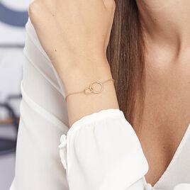 Bracelet Nacha Plaque Or Jaune - Bracelets fantaisie Femme | Histoire d'Or
