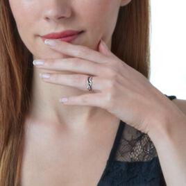 Bague Micaela Or Blanc Diamant - Bagues avec pierre Femme | Histoire d'Or
